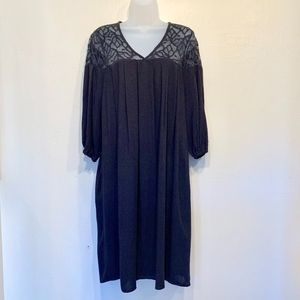 Cost Plus | World Market | NWT Lace V-Neck Dress